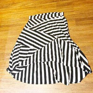 Torrid skirt high/low design